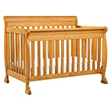 DaVinci Kalani 4-In-1 Convertible Crib, Honey Oak