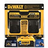 Dewalt DCB102BPBT 12V - 20V MAX Dual Port Charger with 4.0 Ah Bluetooth Battery Pack