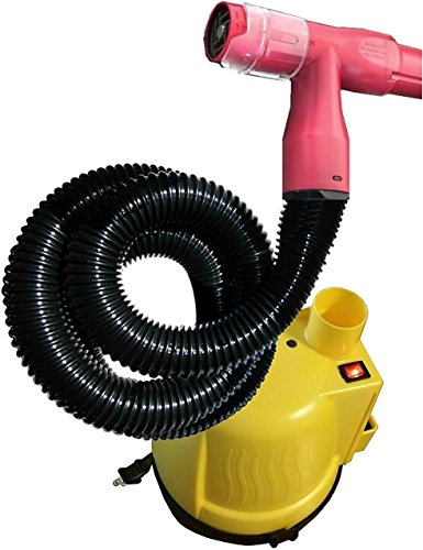 Haircut Pro-Bumblebee Vacuum Haircutter, Yellow/Red, 8 Pound