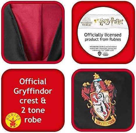 Rubie's offizieller Harry Potter Gryffindor-Umhang, Deluxe, für Kinder, Kostüm, Größe M