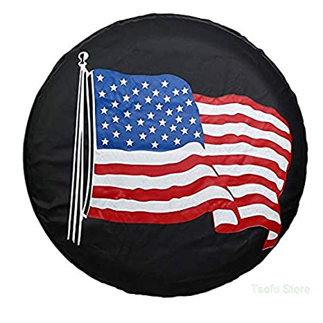 Amazon Com Acc Spare Tire Cover Pvc Leather Waterproof Dust Proof
