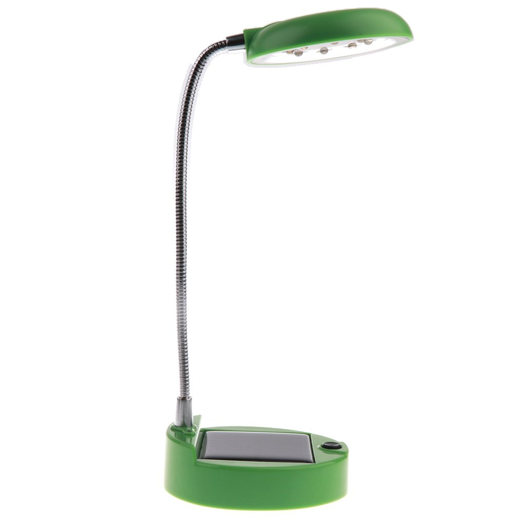 Perfekt f/ür Schlafzimmer Kinderzimmer Wohnzimmer usw Fenteer Tragbare Schwanenhals Solar Schreibtisch LED Lampe Tischlampe Leselampe Beleuchtung mit USB-Kabel 2 Ladearten - Blau