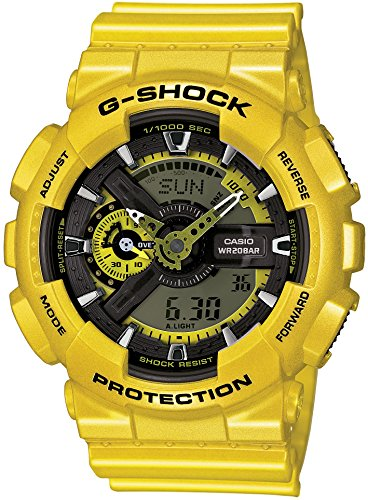 Casio G Shock Yellow Digital GA110NM 9A