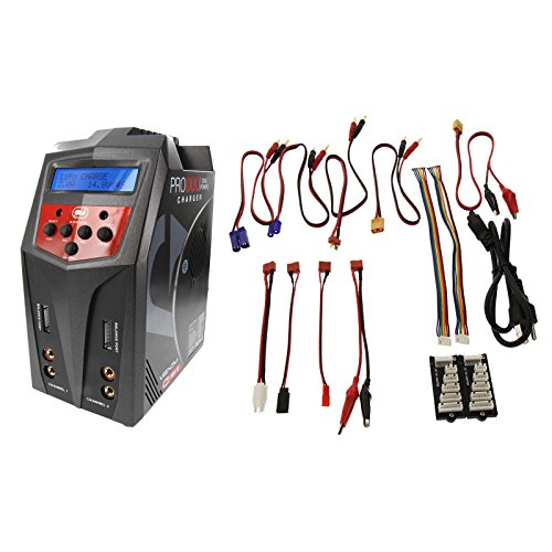 - Venom Pro Duo 80W X2 Dual AC/DC 7A LiPo/LiHV & NiMH RC Battery Balance Charger