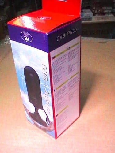 TW30 DVB-T ANTENA 30 DB PORTÁTIL CAMPER CAR HOME CON IMÁN DE TV DIGITAL