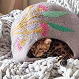 CAT BEDS Made from 100% NZ Merino Wool, Spun into Felt in Nepal. We Like to Call Them CAT Caves!
