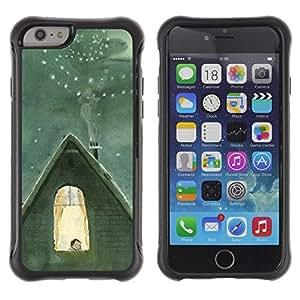 "Pulsar iFace Series Tpu silicona Carcasa Funda Case para Apple iPhone 6+ Plus(5.5 inches) , Invierno famoso Catia Chien Núcleo"""