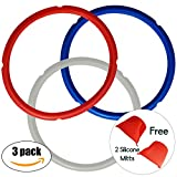 Sealing Rings for 5 or 6 Quart Instant Pot Models- Color Coded...