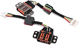 DC-in Jack for Lenovo Ideapad Yoga 3 11 DC30100TX00 DC30100U800, DC Power Jack Harness Port Connector Socket with Wire Cable.