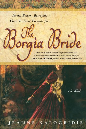 Book cover for The Borgia Bride