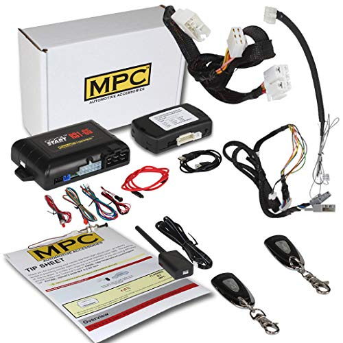 MPC Complete 1-Button Remote Start Kit for 2013-2017 Honda Accord Key-to-Start ONLY - T-Harness - w/FlashLink Updater - Firmware Preloaded