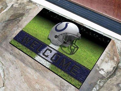 Indianapolis Colts Door Mat (Indianapolis Colts Door Mat 18x30 Welcome Crumb Rubber)