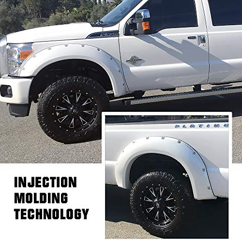 Aggressive Look for Cars and Trucks Custom Wide Look 8 feet by 2 Peel and Stick Gold Label Detailing Universal Fender Flare Kit