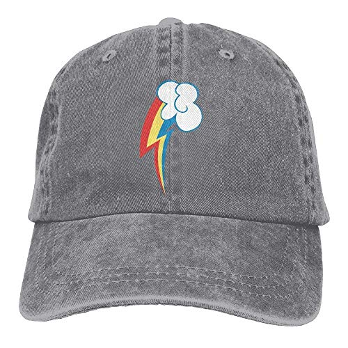 bow Dash Cutie Mark Cowboy Hat Vintage Chic Denim Baseball Caps Trucker Hats ()