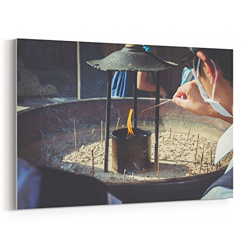 Westlake Art - Spiritual Spirit - 16x24 Canvas Print Wall Art - Canvas Stretched Gallery Wrap Modern Picture Photography Artwork - Ready to Hang 16x24 Inch ()