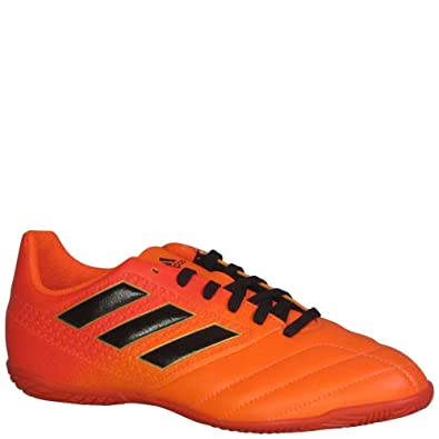 adidas Ace 17.4 Indoor Shoe - Kid s Soccer 5 Solar Orange Black Solar Red 06f89e2eb