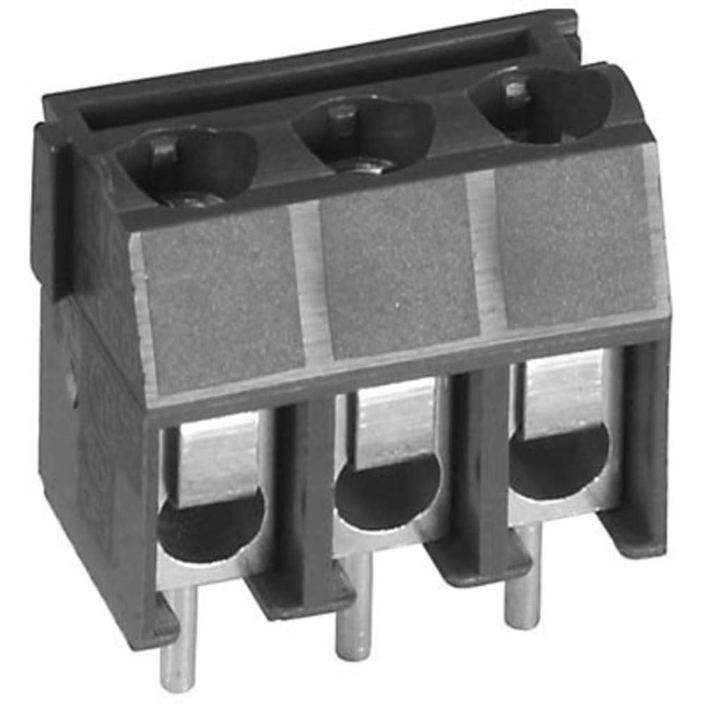 Terminal Block Connector; Screw; 3; 26-12 AWG (UL); 22-10 AWG (CSA); 300 V, Pack of 20