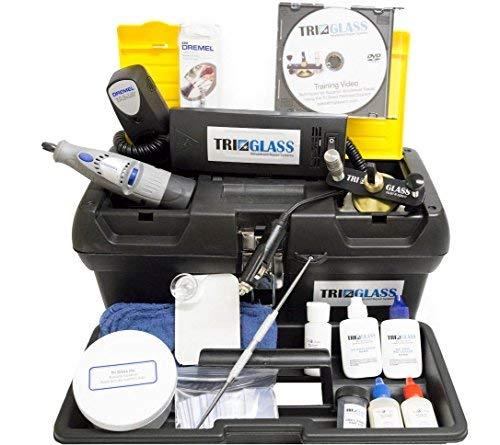 Tri Glass Quality Windshield Repair Kits (Tri Glass TRI 15 Essential Windshield Repair Kit) by Tri Glass (Image #1)