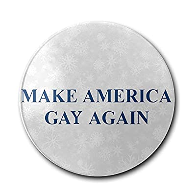 JFD Make America Gay Again Bar Drink Ceramic Coaster Furniture