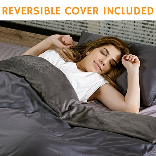 Zero Gravity Glass (Snuggle Pro Weighted Blanket (15 lbs Heavy 48