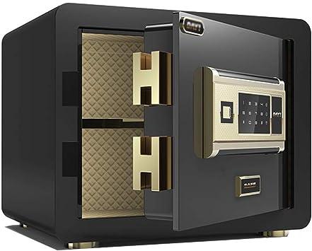 GYH Cajas fuertes Huella Digital Caja De Seguridad, Caja Fuerte Antirrobo Segura De Acero para Oficina En Casa para Pared Y Armario, 25cm, 40cm (Color : A, Size : 25CM): Amazon.es: Bricolaje