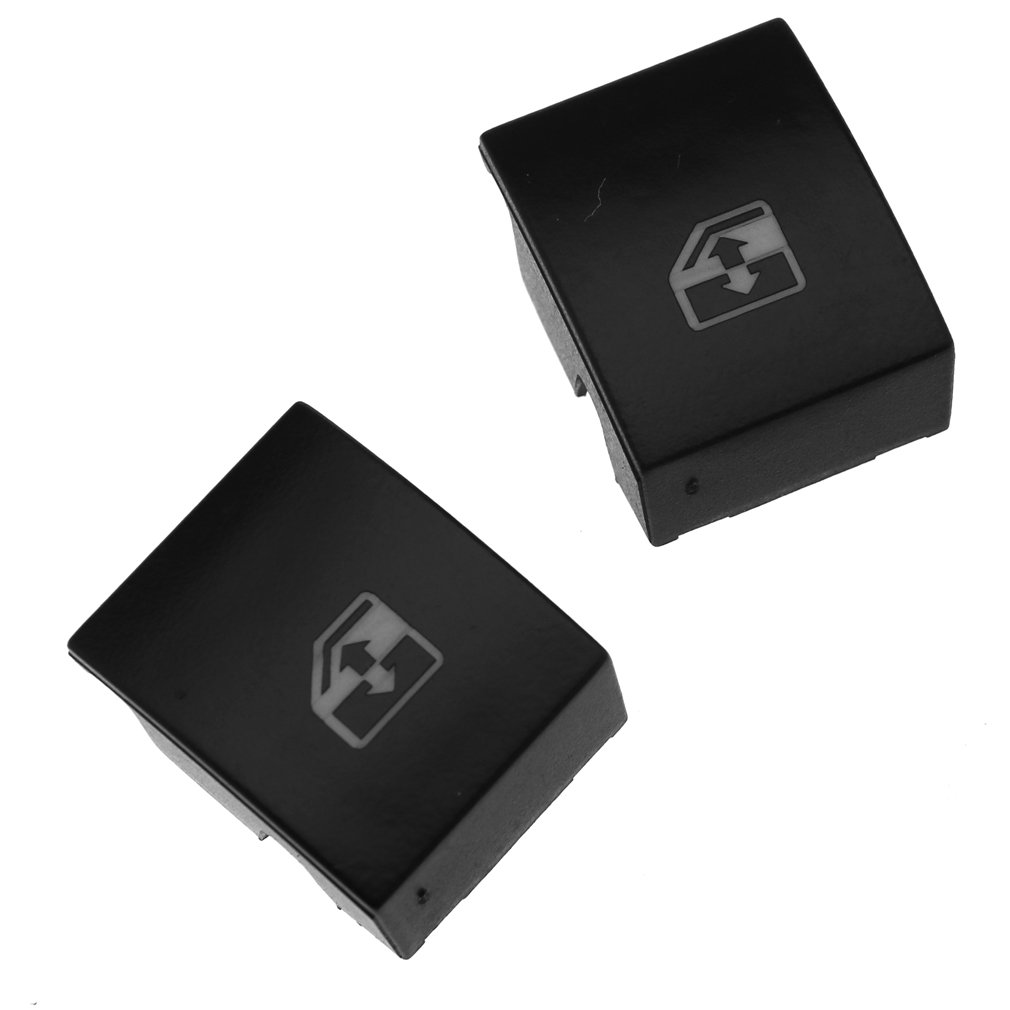 2 Pieces Car Auto Electric Window Aerial Up Down Rocker Switch Emma