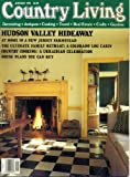 Country Living January 1992 Hudson Valley Hideaway, New Jersey Farmstead, Colorado Log Cabin, Country Cooking - A Ukrainian Celebration, Sweet-Grass Baskets, Build Your Own Plate Rack, Chinese Recipes