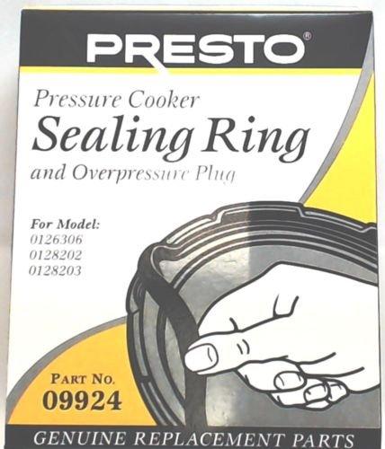 Presto Pressure Cooker Gasket Sealing Ring 09924