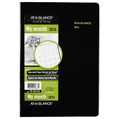 AT-A-GLANCE Monthly Planner 2016, 13 Months, January – Ja...