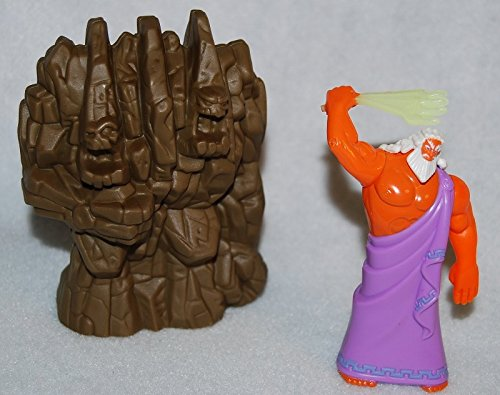 McDonalds Happy Meal 1996 Disney Hercules Zeus Rock Titan #2