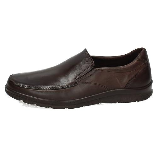 PITILLOS 4650 Mocasines PITILLOS Hombre Zapatos MOCASÍN MARRÓN 40