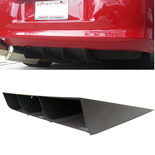 Rear Bumper Diffuser Fits Universal Vehicles 20.75