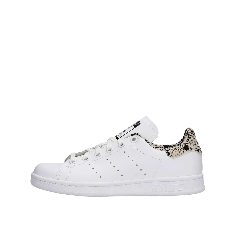 Adidas Stan Smith J, Chaussures de Fitness Mixte Enfant Blanc (Blanco 000) 36 2/3 EU BC0271