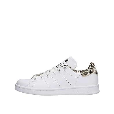huge selection of 10c67 68ec5 adidas Stan Smith J, Chaussures de Fitness Mixte Adulte, Blanc (Blanco 000)