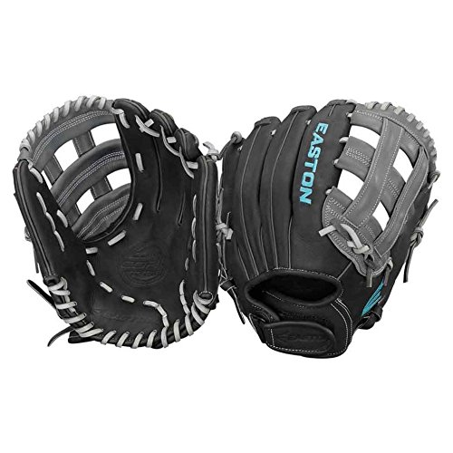Easton Core Fastpitch Series COREFP1225BKGY Right Hand Throw 12.25 in Infield/Pitcher (Diamond Fielders Glove)