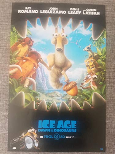 (Ice Age: Dawn of the Dinosaurs 2009 S/S Advance Rolled Movie Poster 11x17)