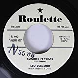Leo Diamond 45 RPM Sunrise in Texax / Till