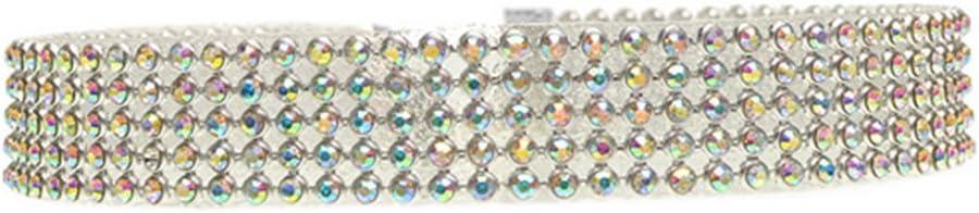 L-2.5cm Cdet Damen Halskette Blau Voller Diamant Anh/änger Halskette Ornamente Legierung Halskette Valentinstag Weihnachten Geburtstag Geschenk Party Zubeh/ör Hochzeitskleid Dekoration