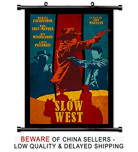 Slow West Movie Fabric Wall Scroll Poster (16x23) Inches