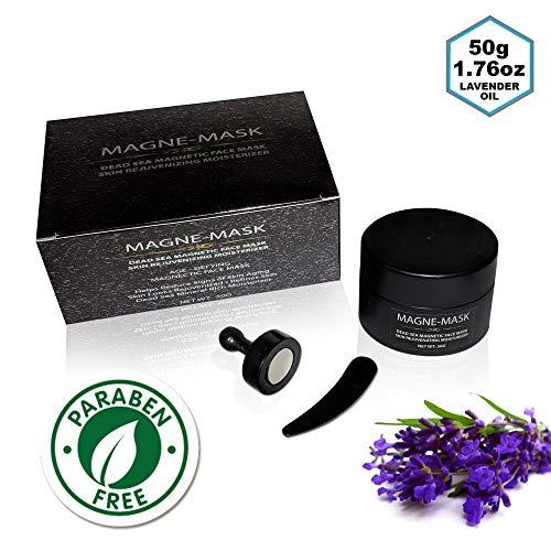 - Original Magne-Mask Magnetic Face Mask - Korean Skin Care Cleansing Dead Sea Mineral Anti-Aging Mud Mask Moisturizer (1.76 oz/50g)