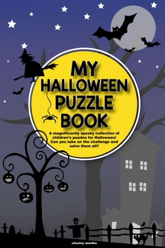 My Halloween Puzzle Book: A magnificently spooky collection