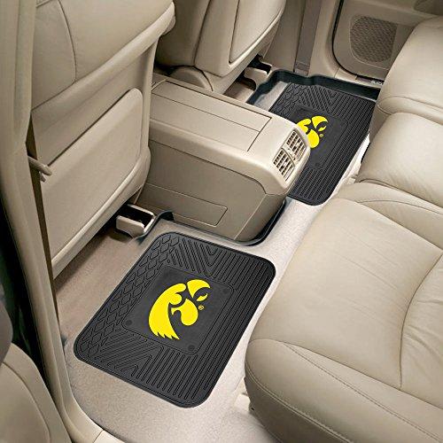 Fanmats University of Iowa Backseat Utility Mats 2 Pack Size=14