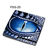 Taylorhe Skins PS3 Slim Decal/ lizard eye