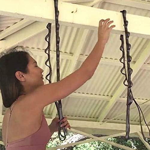 TOOGOO Corde descalade en Plein Air Escalade Corde Auxiliaire Downhill Aerial Yoga Hamac Daisy Anneau Sling Equipement Anneau