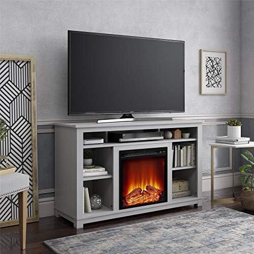 Ameriwood Home Edgewood Fireplace 55″