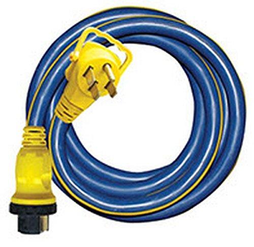 RV Trailer Pro Series 35Ft 50/50Amp RV Locking Cord - 16-00587 Extension Cord ()