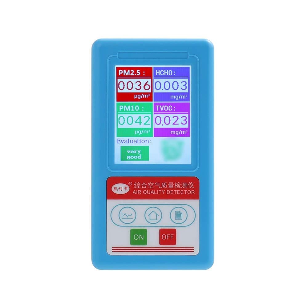Leepesx BR-8A Multifonctionnel Professionnel Ordinateur de poche PM2.5 PM10 PM1.0 D/étecteur M/ètre Analyseur de la qualit/é de lair Analyseur de particules Testeur