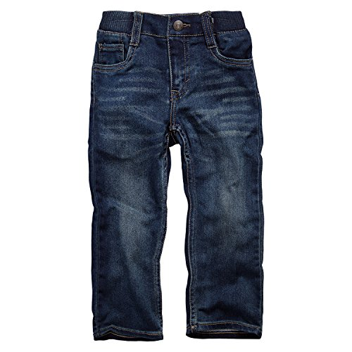 Levi's Baby Boys' Straight Fit Jeans, Electric Prune, 18M