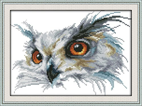 CaptainCrafts Hots Cross Stitch Kits Patterns Embroidery Kit