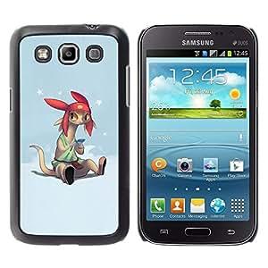 Be Good Phone Accessory // Dura Cáscara cubierta Protectora Caso Carcasa Funda de Protección para Samsung Galaxy Win I8550 I8552 Grand Quattro // Cartoon Character Anime Technology B